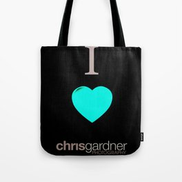 I Love Chris Gardner Photography Tote Bag