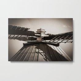 Dutch Windmill Old skool look (Bourtange) Metal Print