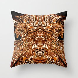 Divine Chariot Throw Pillow