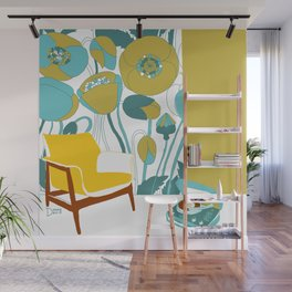 The yellow chair Wall Mural
