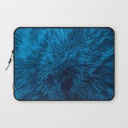 Bold Burst in Blue Laptop Sleeve