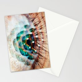Green Eyes Hypnotize Stationery Cards