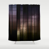 metal Shower Curtains featuring metal world  by VanessaGF
