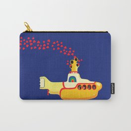 Yellow Submarine Bubbling Love Carry-All Pouch