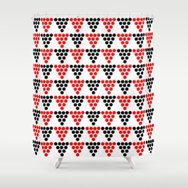Abstraction from Cardium pottery 5-abstraction,abstract,cardial,cardium pottery Shower Curtain