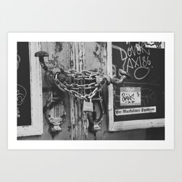 The Chain and The Door Art Print