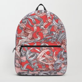 'A world of made is not a world of born' Backpack
