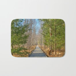 Jesup Boardwalk Trail Bath Mat