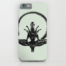 Meditation Alien iPhone 6 Slim Case