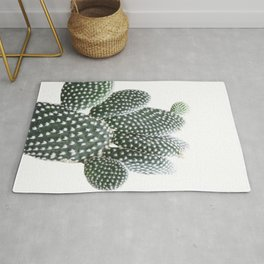 Fuzzy Cactus Photography | Botanical | Tropical | Minimalist | Cactus-Art Rug