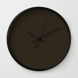 Molasses Wall Clock