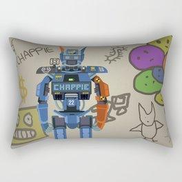 Chappie vector fanart Rectangular Pillow