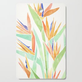 Birds of Paradise ~ tropical bouquet Cutting Board