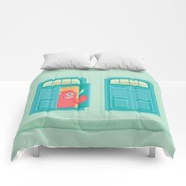 Hay un monstruo en la ventana Comforters