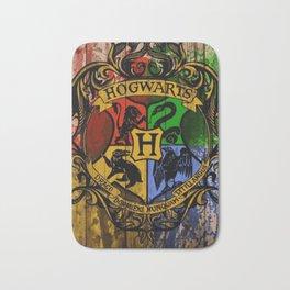 Hogwarts Gryffindor Hufflepuff slytherin ravenclaw Bath Mat