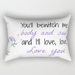 Bewitch Me Rectangular Pillow