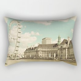 London Eye Love You Rectangular Pillow