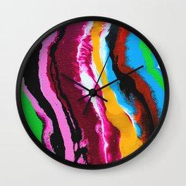 Coated in Jewels Wall Clock