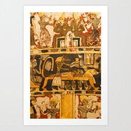 Egyptian Ancient Art Art Print
