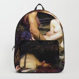 Hylas and the Nymphs,  John William Waterhouse Backpack