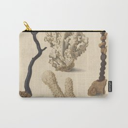 Naturalist Coral Carry-All Pouch