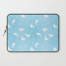 Beluga Whales Laptop Sleeve