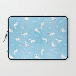 Beluga Whales Laptop Sleeve