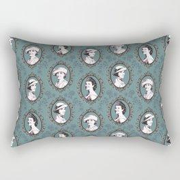 Crawley girls victorian downton Rectangular Pillow
