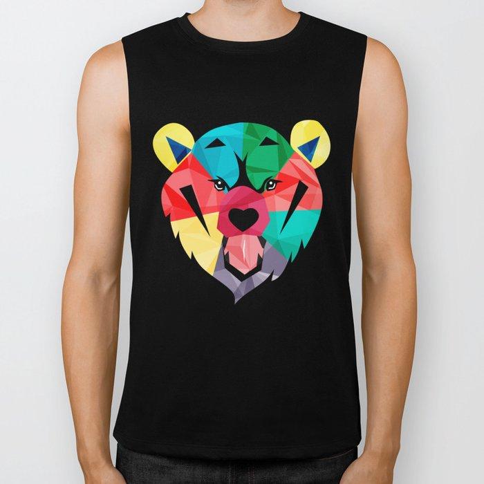 bear  Biker Tank