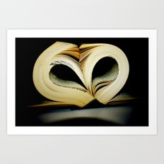For the Love of Reading Art Print