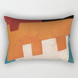 Вол и Bода (Ox and Water) Rectangular Pillow