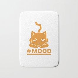 #MOOD Cat Orange Bath Mat