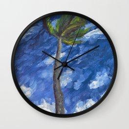 Kailua Palm Wall Clock
