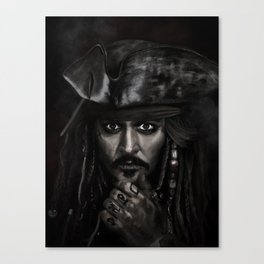 He's a Pirate Canvas Print