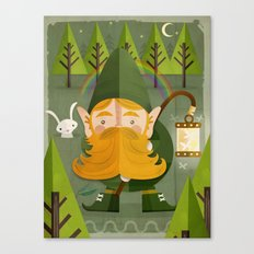 The elf Canvas Print