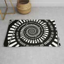 In The Beginning Rug