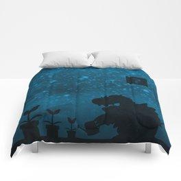 Night Garden Comforters