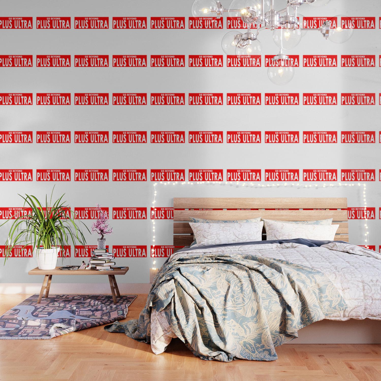 Plus Ultra Banner Wallpaper By Rikudou Society6