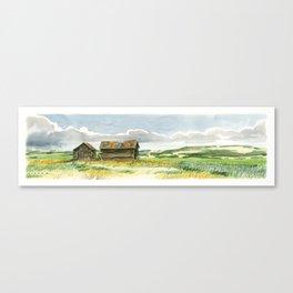 Prairie Buildings Canvas Print