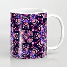 Boho Floral Pattern Coffee Mug