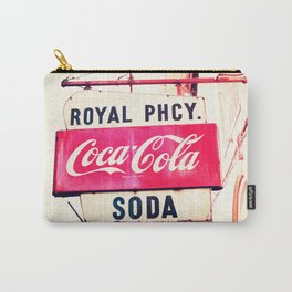 Royal Pharmacy Vintage Sign - New Orleans Carry-All Pouch