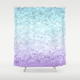 MERMAIDIANS AQUA PURPLE Shower Curtain