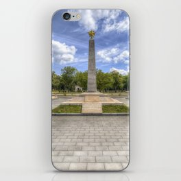 Soviet War Graves And Memorial Budapest iPhone Skin