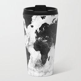 World map travel mugs society6 world map marble 3 travel mug sciox Image collections