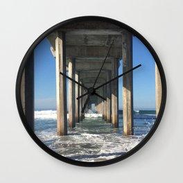 La Jolla Pier Wall Clock