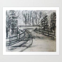 The Laneway Art Print