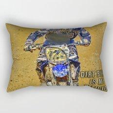 Dirtbiking Is My Religion / MX Champion Rectangular Pillow