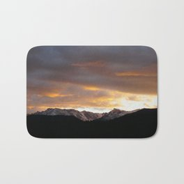 Sunset on Trail Ridge 3 Bath Mat