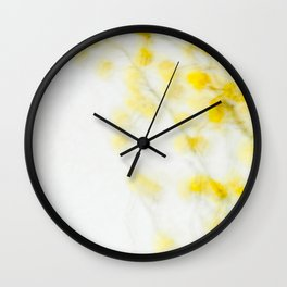 Mimosa - JUSTART (c) Wall Clock