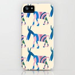 Donkey Parade iPhone Case